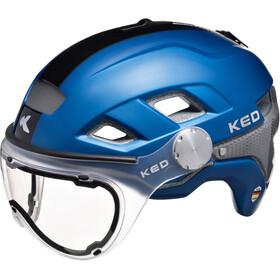 KED B-Vis Helmet Blue Black
